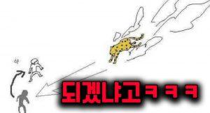 인간이 동물을 상대로 싸워서 이기는 법 모음ㅋㅋㅋ(feat.댓글반응)