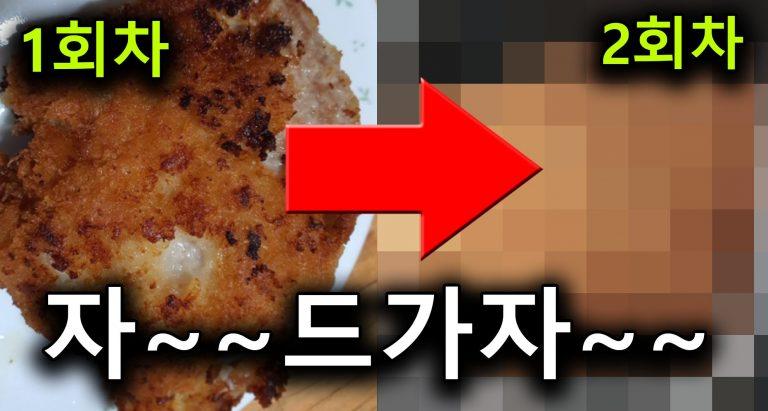 [음식리뷰] 배드마우스 돈갓츠 2회차 플탐 10분 솔직후기.txt