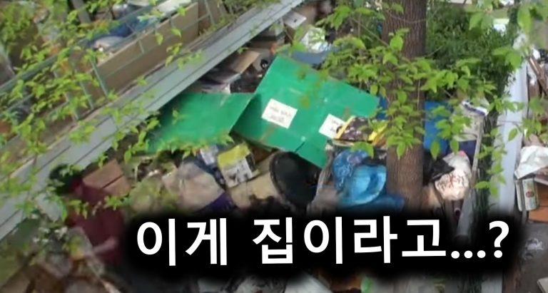 쓰레기집에 사는 가족들의 사연…ㄹㅇ…
